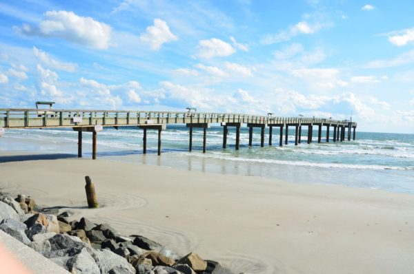 Fishing pier in St. Augustine Florida
