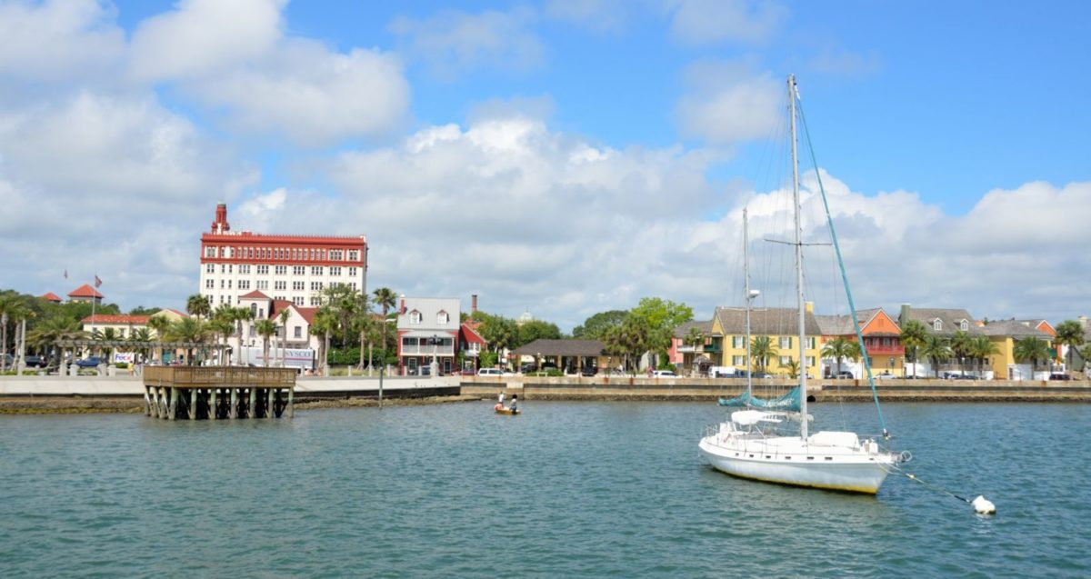 the bay in st augustine