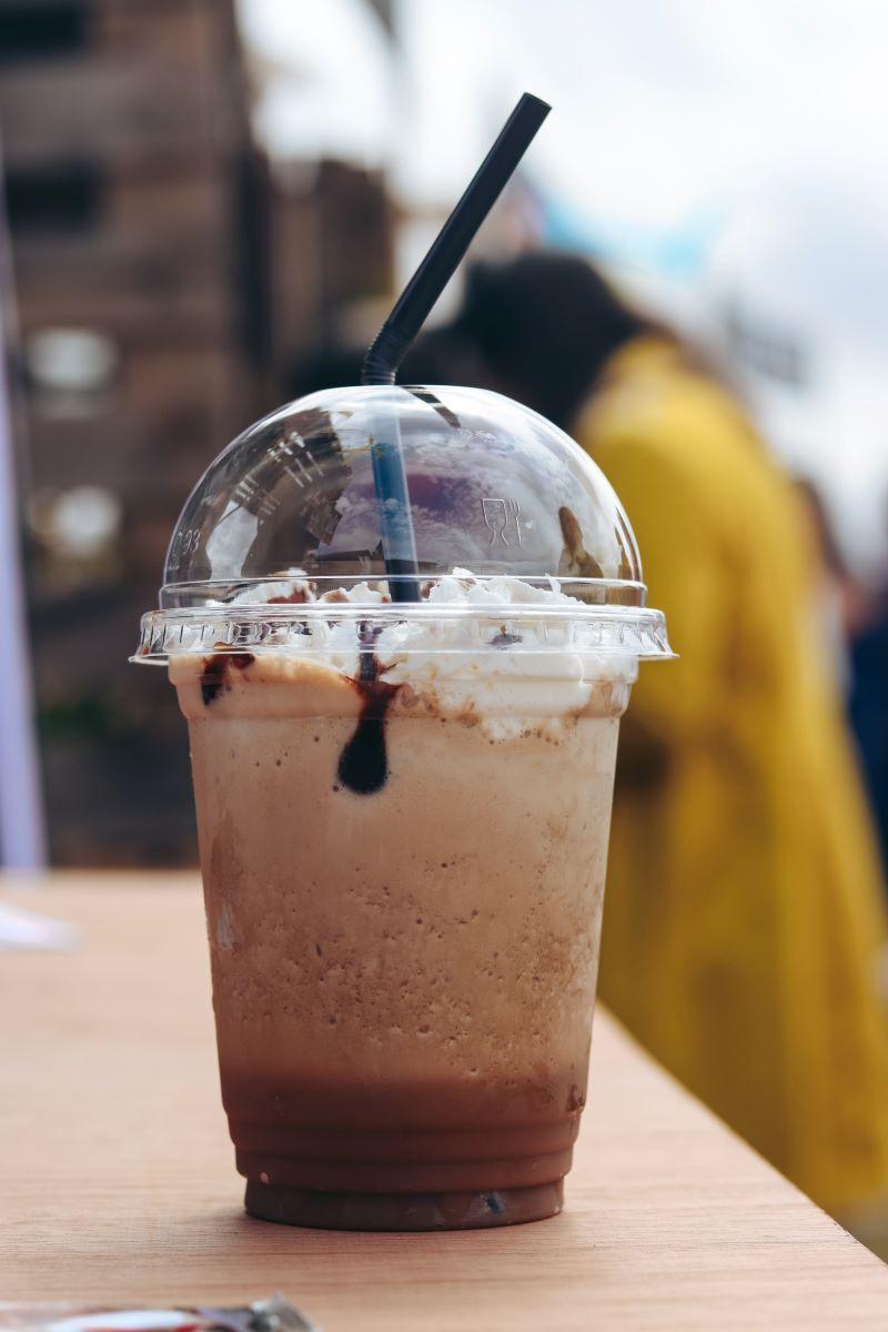chocolate milkshake from spot in st augustine